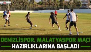 Denizlispor, Malatyaspor maçı hazırlıklarına başladı