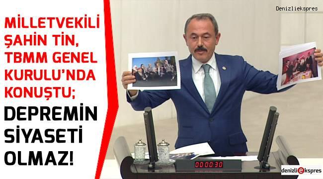 DEPREMİN SİYASETİ OLMAZ!