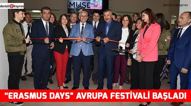 """""""Erasmus Days""""Avrupa Festivali Başladı"""