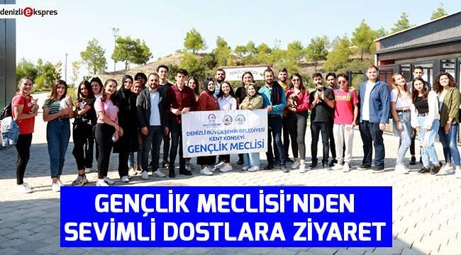 Gençlik Meclisi'nden sevimli dostlara ziyaret
