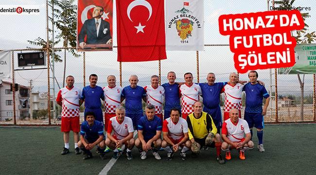 Honaz'da futbol şöleni