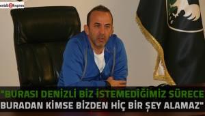 Mehmet Özdilek, çok net konuştu!