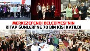 Merkezefendi Belediyesi'nin Kitap Günleri'ne 70 bin kişi katıldı