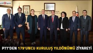 PTT'den 179'uncu kuruluş yıldönümü ziyareti