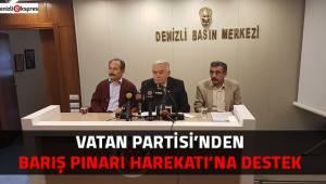 Vatan Partisi'nden Barış Pınarı Harekatı'na destek