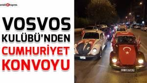 Vosvos Kulübü'nden Cumhuriyet konvoyu