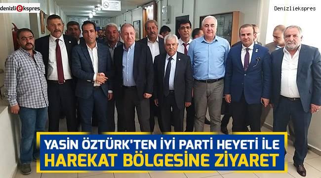 Yasin Öztürk'ten İYİ Parti Heyeti ile Harekat Bölgesine Ziyaret