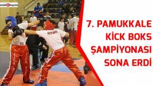 7. Pamukkale Kick Boks Şampiyonası sona erdi