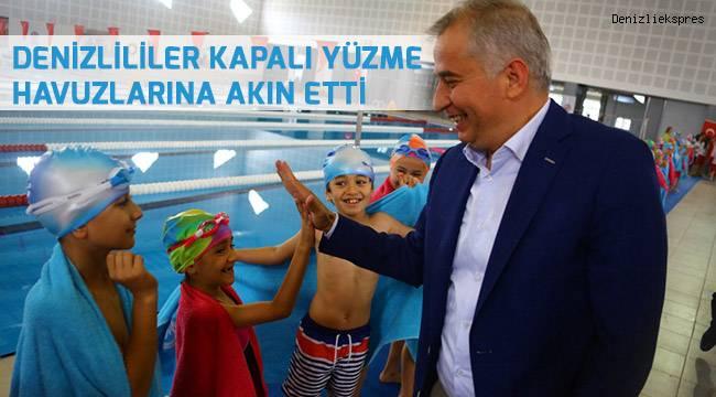 8 kapalı yüzme havuzu, 50 bin kursiyer