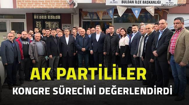 AK Partililer kongre sürecini değerlendirdi
