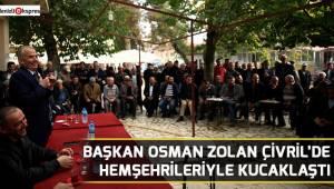 Başkan Osman Zolan Çivril'de hemşehrileriyle kucaklaştı