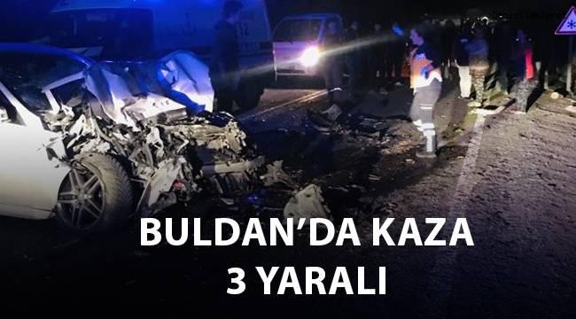 Buldan'da kaza; 3 yaralı
