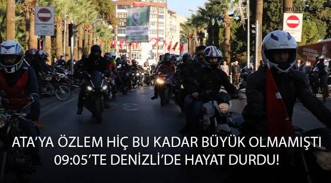 Büyük Önder Atatürk büyük bir özlemle anıldı