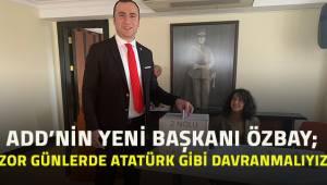 Denizli ADD'nin yeni Başkanı Kadem Özbay oldu