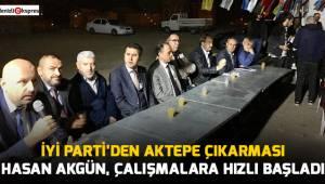 Hasan Akgün, çalışmalara hızlı başladı