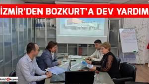İZMİR'DEN BOZKURT'A DEV YARDIM