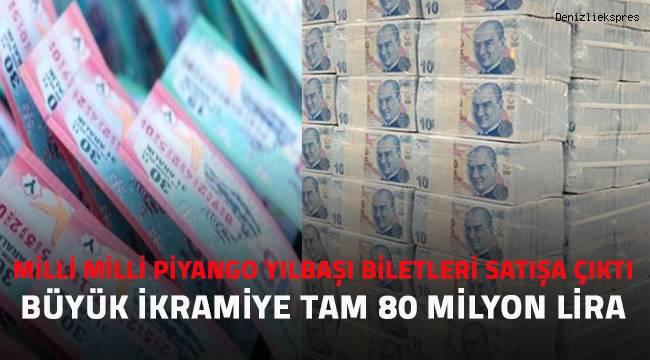 Milli Piyango yılbaşı biletleri satışa çıktı