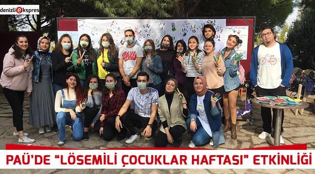 """PAÜ'de """"Lösemili Çocuklar Haftası"""" etkinliği"""