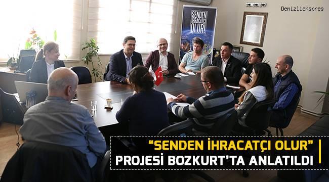 """""""Senden İhracatçı Olur"""" Projesi Bozkurt'ta Anlatıldı"""