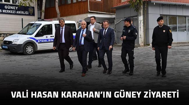 Vali Hasan Karahan'ın Güney Ziyareti
