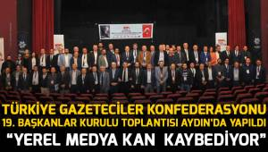 """""""YEREL MEDYA KAN KAYBEDİYOR"""""""