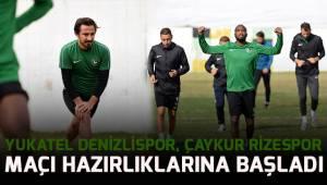 Yukatel Denizlispor, Çaykur Rizespor maçı hazırlıklarına başladı