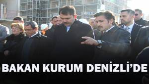 Bakan Kurum'dan Denizli'deki afetzedelere konut müjdesi