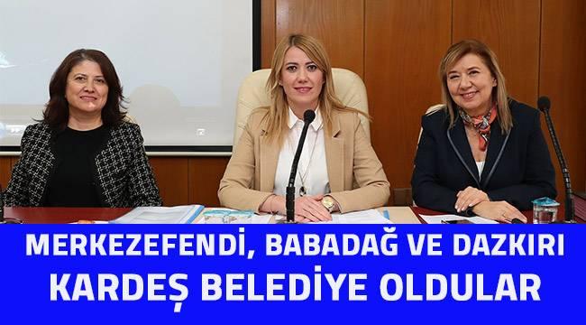 """Başkan Doğan, """"Kardeşlik güzeldir"""""""