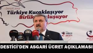 BBP Genel Başkanı Destici'den 'Asgari Ücret' açıklaması: