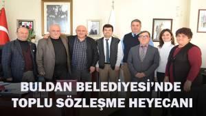 Buldan Belediyesi'nde toplu sözleşme sevinci