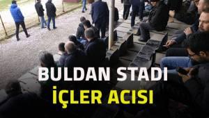 Buldan Belediyespor taraftarları tribünün içler acısı durumundan şikayetçi