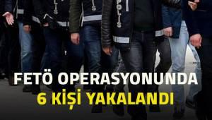 Denizli'de Fetö operasyonunda 6 kişi yakalandı