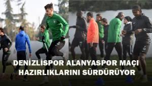 Denizlispor, Alanyaspor maçı hazırlıklarını sürdürüyor