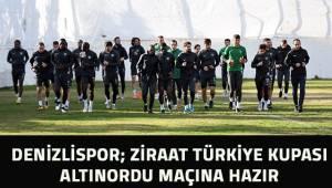 Denizlispor, Altınordu Maçına hazır
