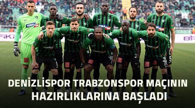 Denizlispor, Trabzonspor maçının hazırlıklarına başladı