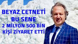 """DENTUROD Başkanı Gazi Murat Şen: """"Pamukkale'de bu yıl sonu itibariyle 2 milyon 700 bin ziyaretçi sayısına ulaşacağız"""""""