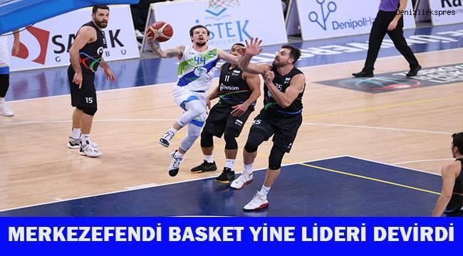 Merkezefendi Basket yine lideri devirdi