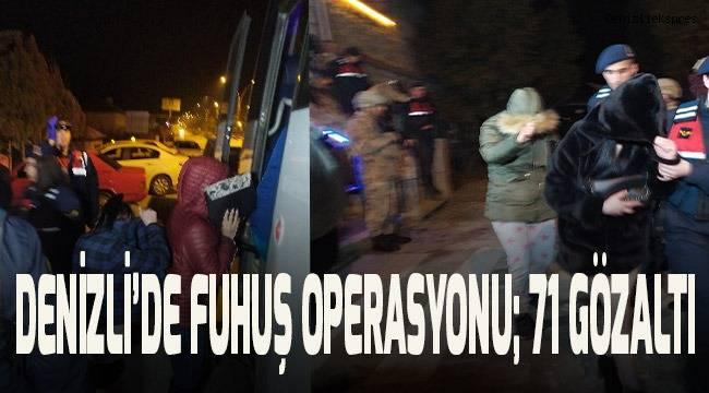 30 adrese fuhuş baskını: 71 gözaltı