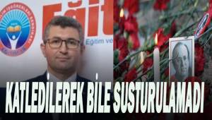 Aydoğan; Uğur Mumcu gibi gazetecilere sahip çıkmalıyız