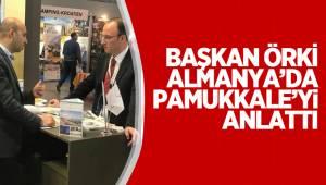 Başkan Avni Örki Almanya'da Pamukkale'yi Anlattı