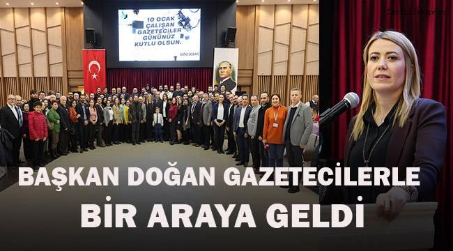 Başkan Doğan; 10 Ocak Çalışan Gazeteciler Günü'nü kutladı.