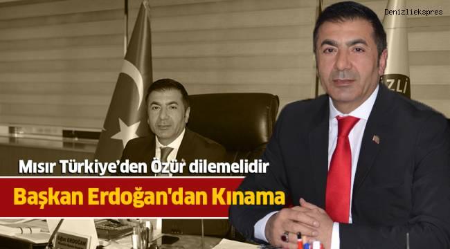 Başkan Erdoğan'dan Kınama