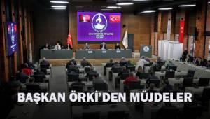 Başkan Örki'den müjdeler