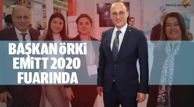 BAŞKAN ÖRKİ EMİTT 2020 FUARINDA