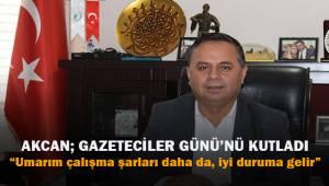 Çal Belediye Başkanı Akcan; Gazeteciler Günü'nü kutladı