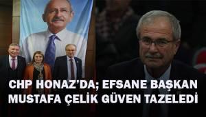 CHP Honaz'da efsane Başkan Mustafa Çelik; güven tazeledi