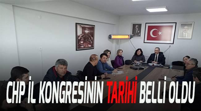 CHP İl Kongresinin tarihi belli oldu