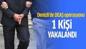 Denizli'de DEAŞ operasyonunda 1 kişi yakalandı