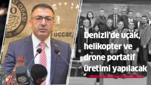 Denizli'de uçak, helikopter ve drone portatif üretimi yapılacak