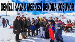 Denizli Kayak Merkezi rekora koşuyor